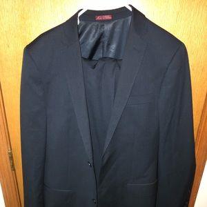 Blair Underwood Navy Blue Mens suit and pants